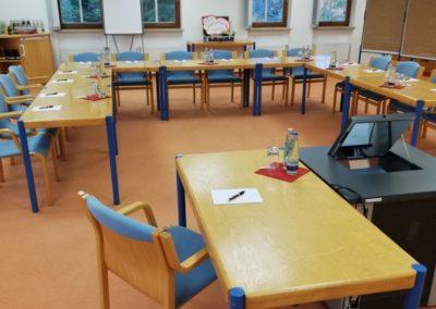 Seminarraum 2 / Bestuhlungsbeispiel