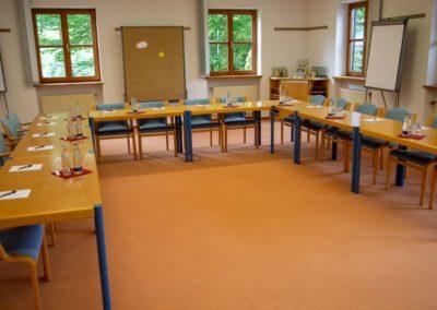 Seminarraum 3 / U-Form