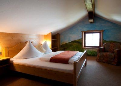 Wohnen im Stüberl / Schlafzimmer