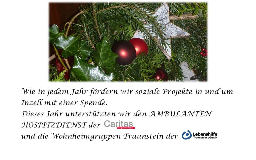 """Weihnachtsspenden vom """"Heißenhof"""""""