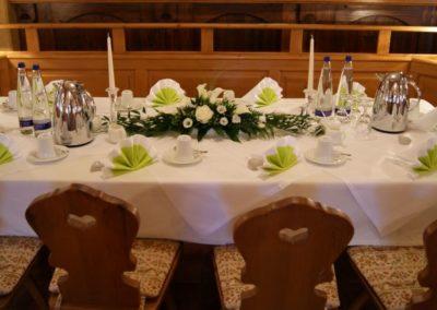 Feiern / Tischdekoration Beispiel 1