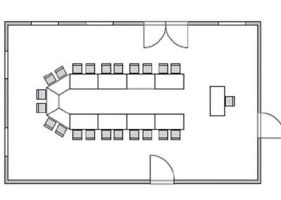 Seminarraum 3 Grundriss